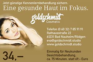 Anzeige Goldschmidt Cosmetic