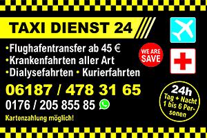 taxi dienst 24 Schöneck